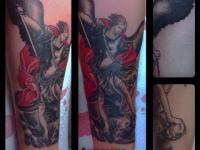 Татуировка архангел