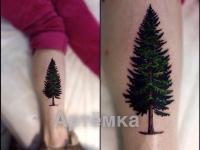 Татуировка ёлочка