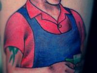 Татуировка рабочий