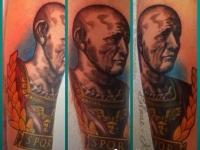 Татуировка император