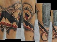 Татуировка аниме