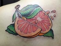 Татуировка апельсин