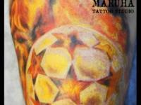 Татуировка мяч