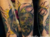 Татуировка зомби