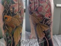 Татуировка подводный мир