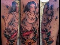 Татуировка боксёршка
