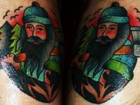 Татуировка лесоруб