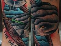 Татуировка кашалот