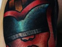 Татуировка голова