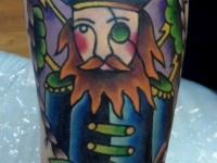 Татуировка одноглазый капитан