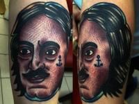 Татуировка Пётр Первый