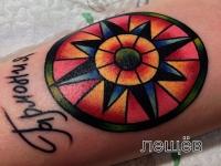Татуировка знак гармонии