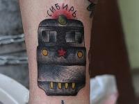 Татуировка локомотив