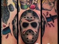 Татуировка голова доктора Лектора