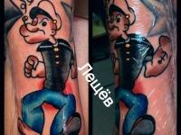 Татуировка морячок