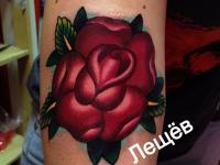 Татуировка роза