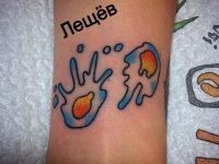 Татуировка пятна