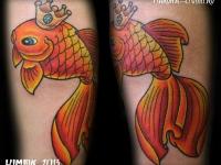 Татуировка рыбка