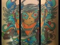 Татуировка персонаж
