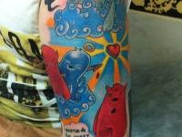 Татуировка мультики