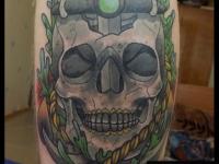 Татуировка череп