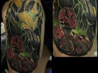 Татуировка тёмные силы