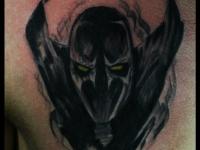 Татуировка летящий вампир