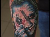 Татуировка гадалка на предплечье