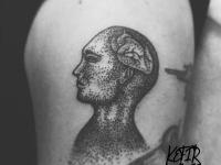 Татуировка профиль
