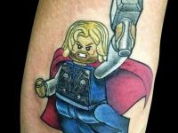 Татуировка лего