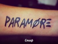 Татуировка надпись на предплечье