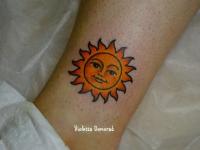 Татуировка солнышко