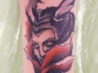Татуировка Малефисента