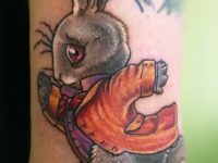 Татуировка заяц
