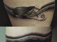 Татуировка змея