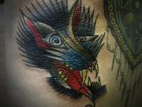 Татуировка зверь