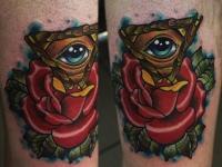 Татуировка око
