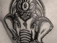 Татуировка слон
