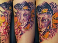 Татуировка Будда