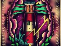 Татуировка маяк