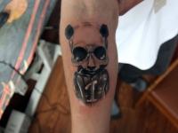 Татуировка персонаж на предплечье