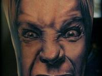 Татуировка лицо