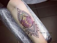 Татуировка гранат