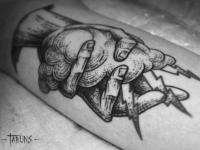 Татуировка рука