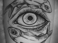 Татуировка рыбы