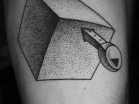Татуировка куб