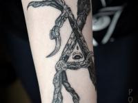 Татуировка когти