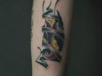Татуировка необычная картинка