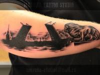 Татуировка Санкт-Петербург