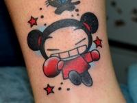 Татуировка мультик